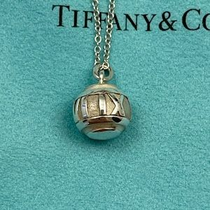 Tiffany & Co. Atlas Ball Necklace (FIRM PRICE)